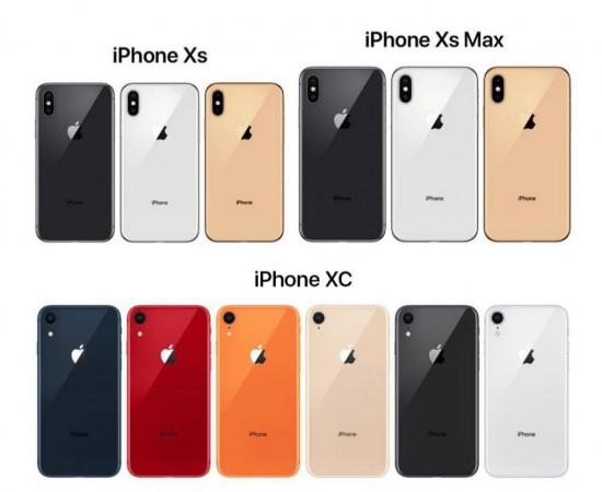 Apple iPhone Xs and the iPhone Xc are expected to come in multiple colour options.