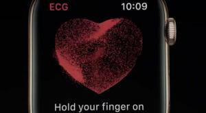 Apple Watch series 4 comes with ECG