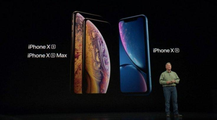 Apple iPhone Xs and iPhone Xr series.
