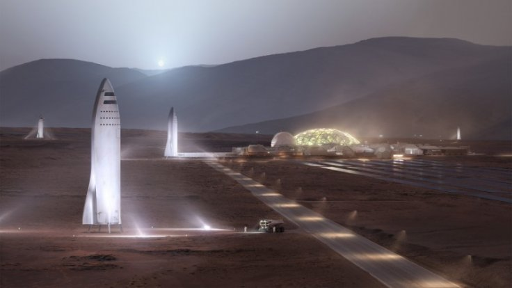 The first version of the BFR unveiled last September