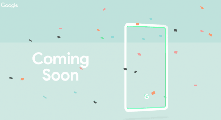 Pixel 3 shown in new mint colour