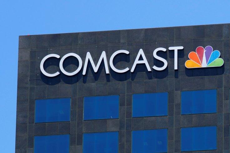 The Comcast NBC logo
