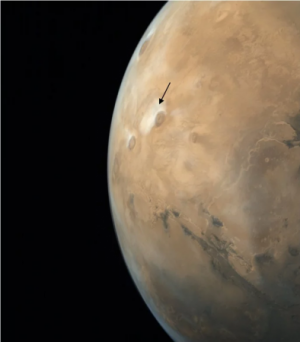 The full disc of Mars in one view frame