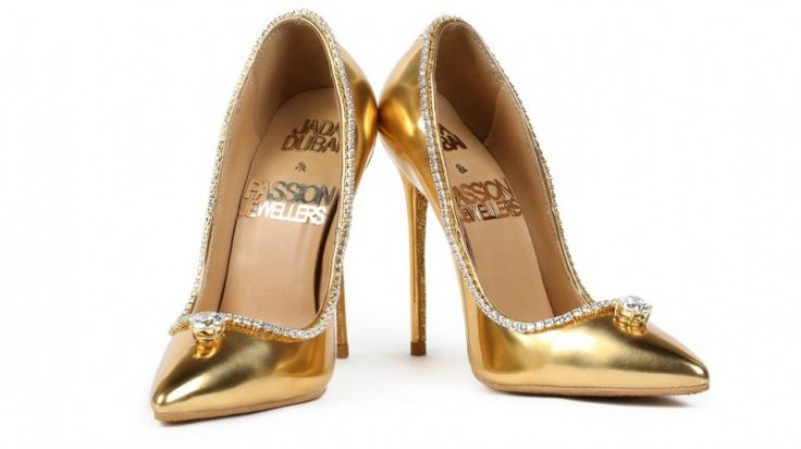 The prototype of the Passion Diamond shoes