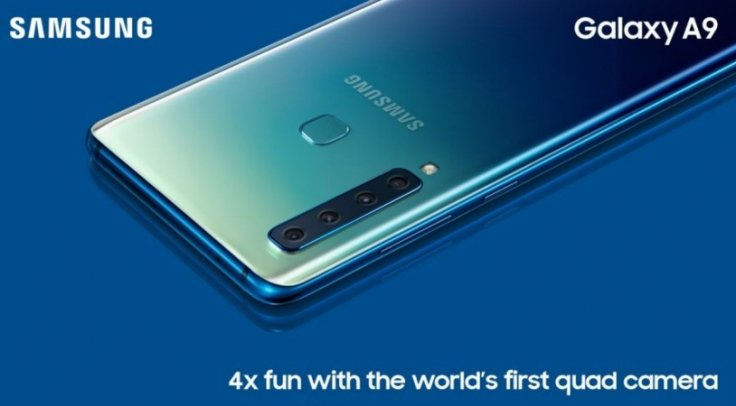 Samsung Galaxy A9 is the world's first phone to boast quadruple rear cameraSamsung Mobile/Twitter (screen-shot)