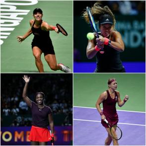 2018 WTA Finals Singapore Day 4