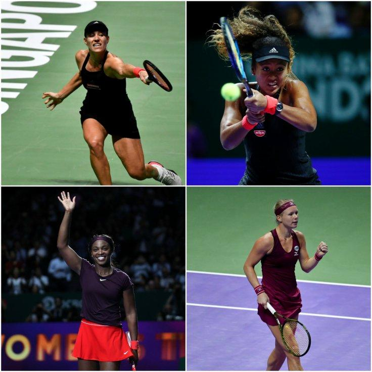 2018 WTA Finals Singapore Day 4