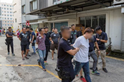 61 men and 5 women arrested