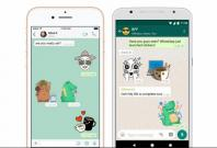 WhatsApp versions of iOS and the Android will soon get stickers support.WhatsApp India Press Kit