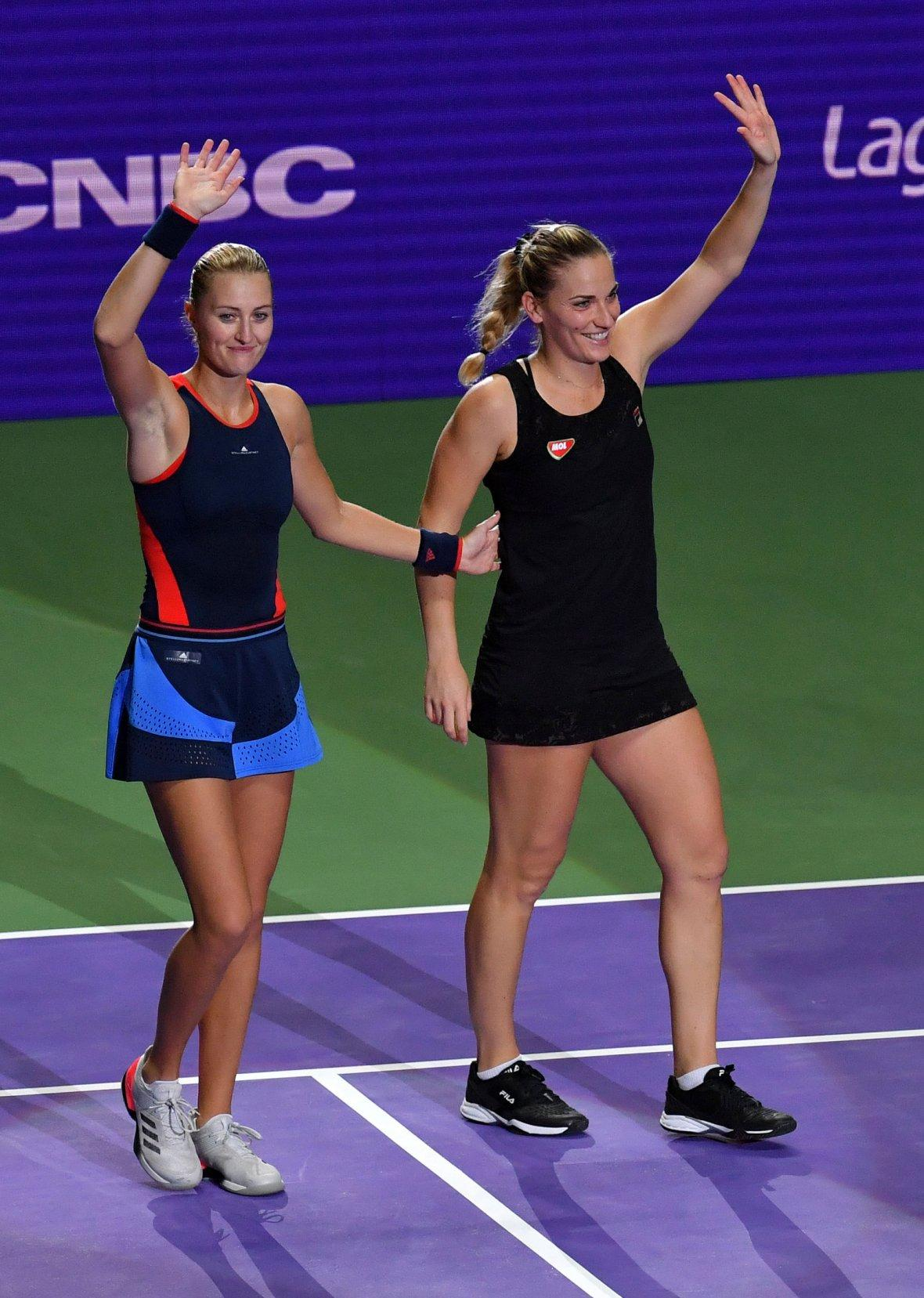 Kristina Mladenovic and Timea Babos