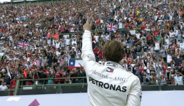 Lewis Hamilton Wins Fifth World Title