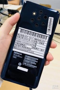Nokia 9 with five cameras leakedITHome