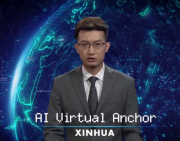 Xinhua's AI news anchor