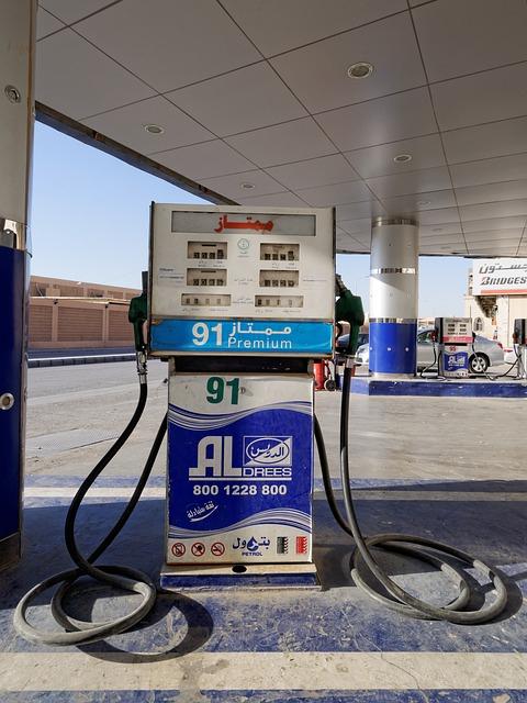 Saudi Arabia petrol station