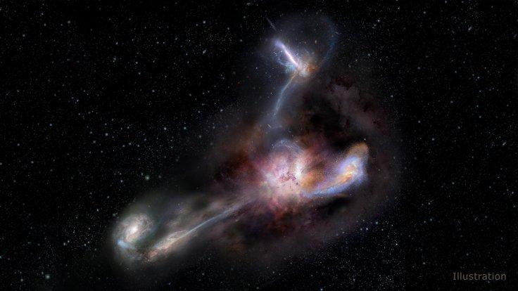 Cannibalizing Galaxy