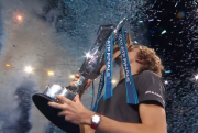 The winner of 2018 Nitto ATPFinalsAlexander Zverev