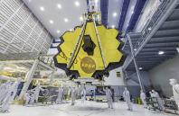 James Webb Space Telescope Mirror Seen in Full Bloom