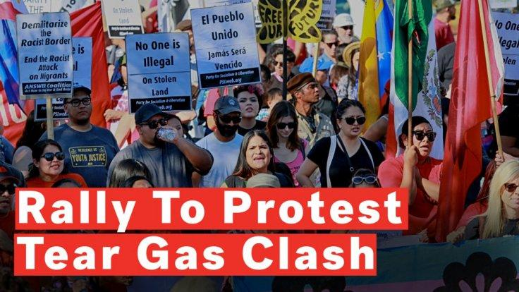 americans-march-along-south-border-to-protest-tear-gas-clash