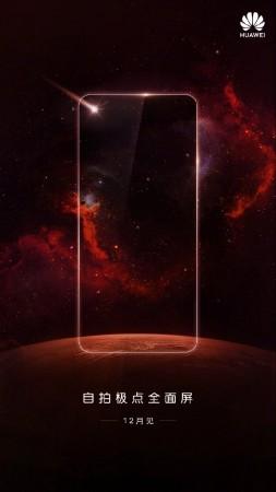 Huawei teases Nova 3S with Infinity O-style displayWeibo / Huawei