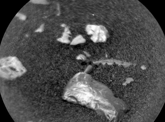 Mars Shiny object