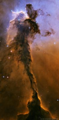 The Fairy of Eagle Nebula