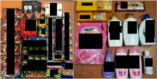 Unauthorised retail purchases by stolen credit card