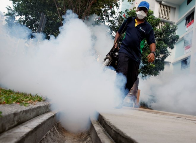 Zika virus cases in Singapore reaches up to 215