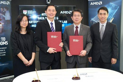 NTU and AMD collaboration
