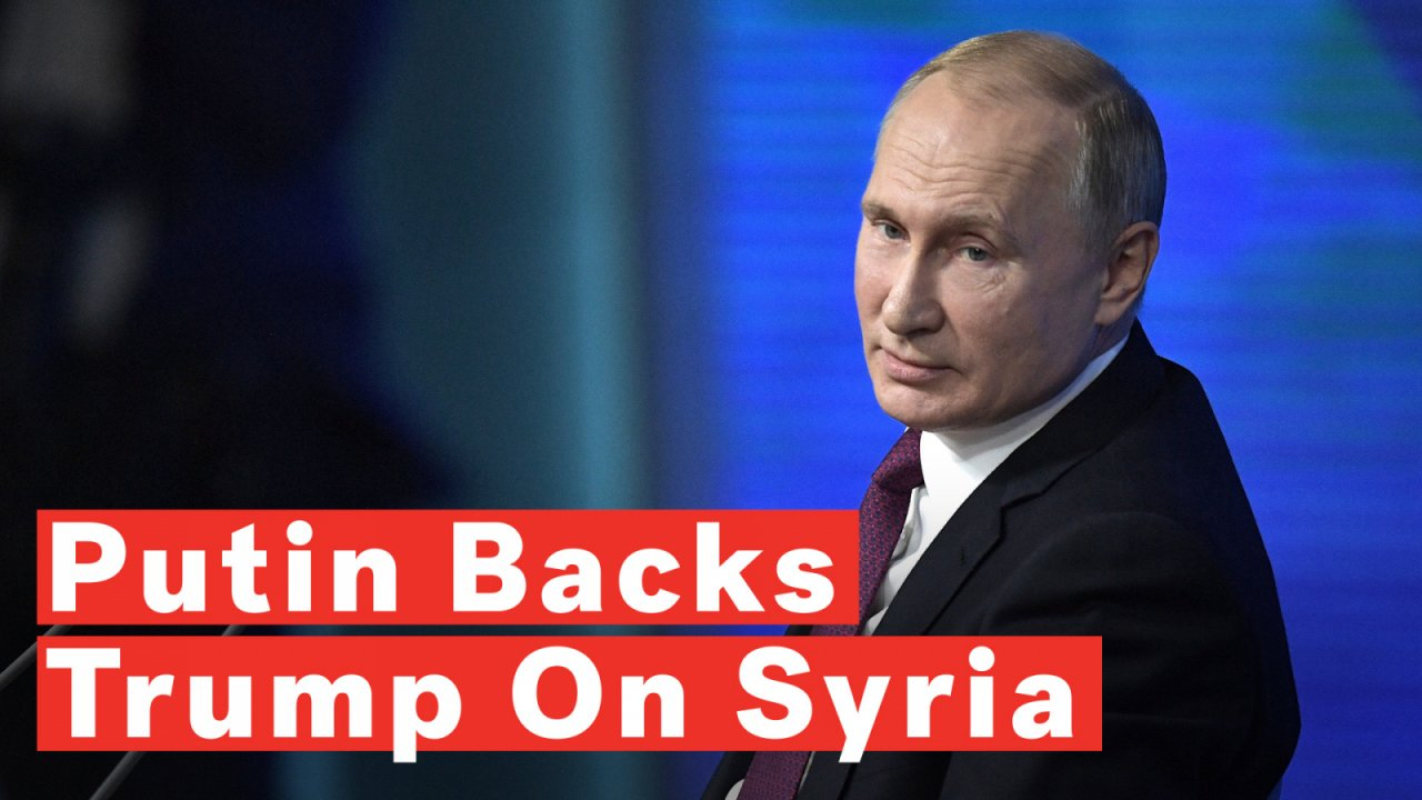 Putin welcomes US pullout from Syria
