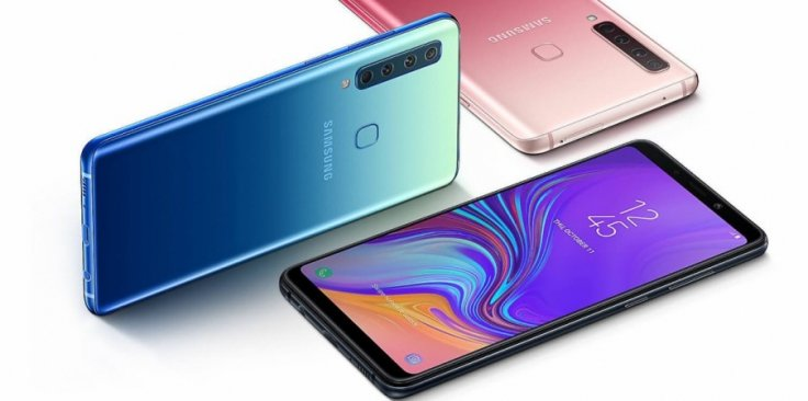 Samsung Galaxy A9 2018 shown for representational purpose