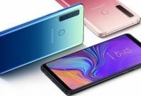 Samsung Galaxy A9 2018 shown for representational purpose