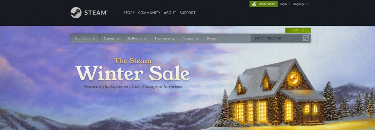 the steam winter sale 2018 offers huge discounts on top. Black Bedroom Furniture Sets. Home Design Ideas