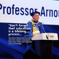 SMU  Professor Arnoud De Meyer