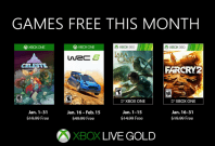 Xbox Live Gold free titles for January 2019Microsoft