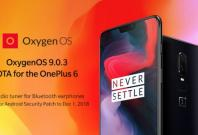OxygenOS 9.0.3 released to OnePlus 6OnePlus official forum (screen-grab)
