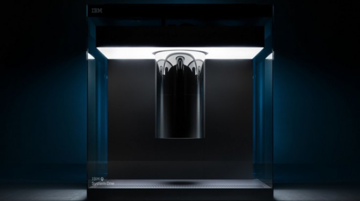 IBM Q System One quantum computer