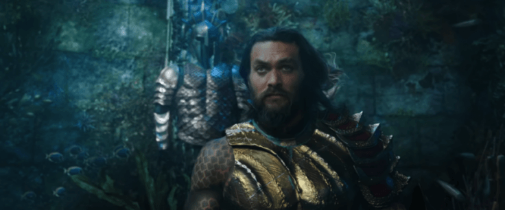 Jason Momoa in AquamanYouTube Screenshot