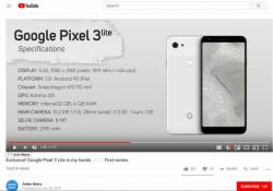Google's new Pixel 3 Lite camera can take high-quality pictures on par with top-end Pixel 3 series.Andro New/YouTube (screen-grab)