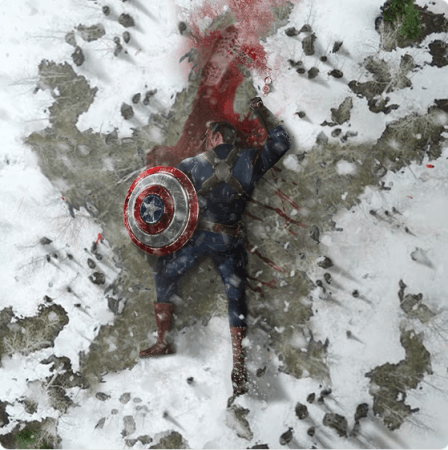 Captain America fan art