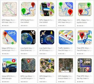 Fake GPS navigation app detected on Google Play store