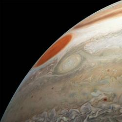Juno's Latest Flyby of Jupiter Captures Two Massive Storms