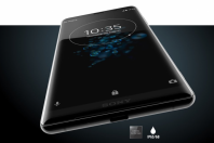 Sony Xperia XZ3 is shown hereSony official website