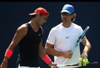 Carlos Moya and Rafael Nadal