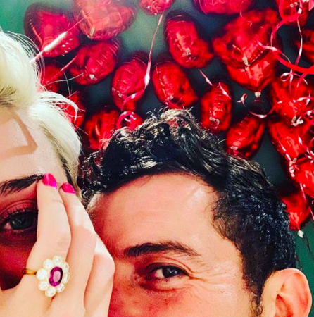 Katy Perry and Orlando Bloom engagementKaty Perry(@katyperry/Instagram)