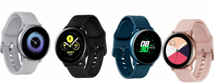 Samsung unveils the new Galaxy Watch Active at Galaxy Unpacked 2019 in the US.Samsung Mobile Press