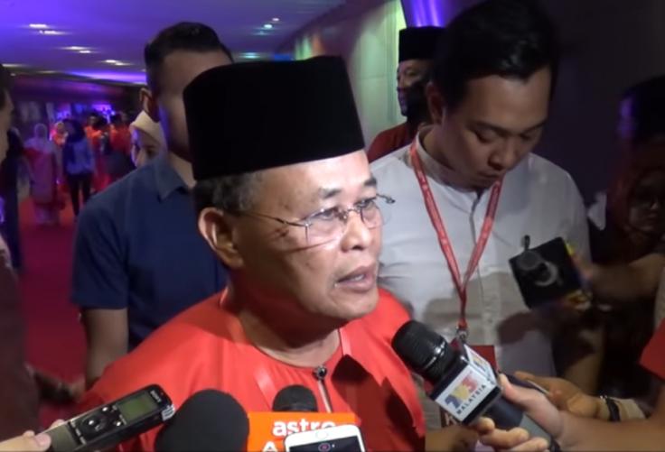 Johor Chief Minister Osman Sapian