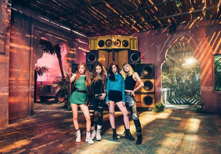 S Korean K Pop Girl Band Black Pink Goes Global With