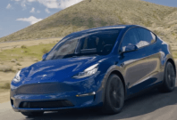 Tesla unveiled its new all-electric Model Y crossover vehicle