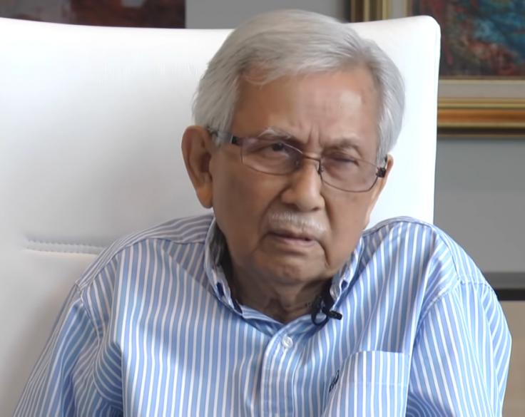 Malaysia's new government advisor Daim Zainuddin