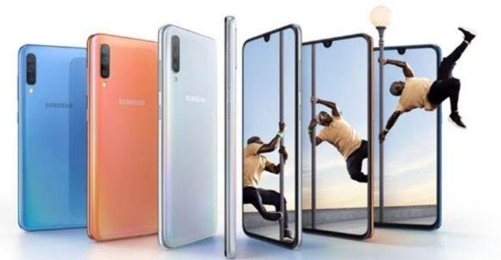 Samsung Galaxy A70 is slated to make its global debut along with the Galaxy A60 and the Galaxy A90 on April 10.Samsung India Media Kit